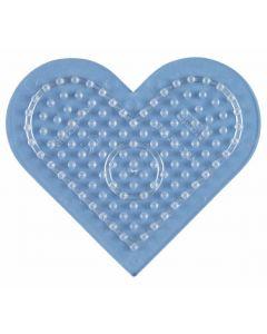 Hama Midi perlebrett - lite gjennomsiktig hjerte