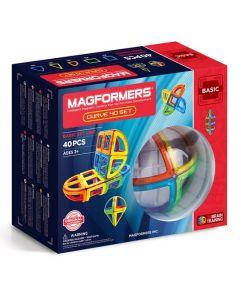 Magformers Curve 40 set