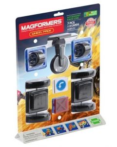 Magformers Wheel Accessory Pack