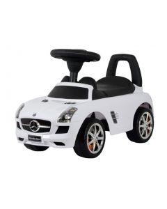 Mercedes lær-å-gå - hvit