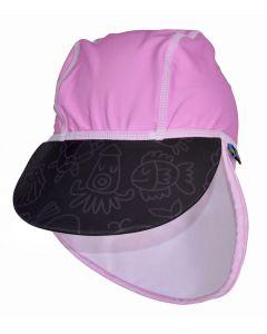 Swimpy UV-hatt pink ocean - str 86-92