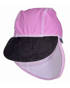 Swimpy UV-hatt pink ocean - str 74-80