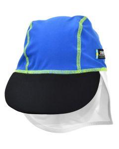 Swimpy UV-hatt Monster blå - str 74-80