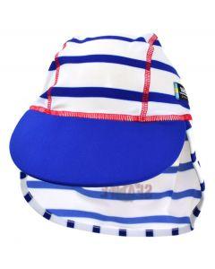Swimpy UV-hatt Sealife blå - str 74-80