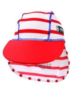 Swimpy UV-hatt Sealife rød - str 86-92