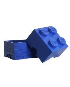 LEGO storage brick 4 - Bright Blue