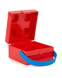 LEGO matboks med håndtak - Bright Red