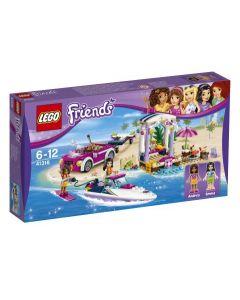 LEGO Friends Andreas speedbåthenger 41316