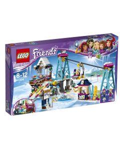 LEGO Friends Vintersportstedets skiheis 41324