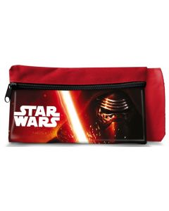 Star Wars toalettmappe 20,5x11,5 cm - rød