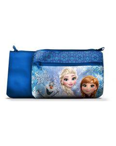 Disney Frozen toalettmappe 24x15 cm - blå