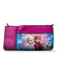 Disney Frozen toalettmappe 24x15 cm - rosa