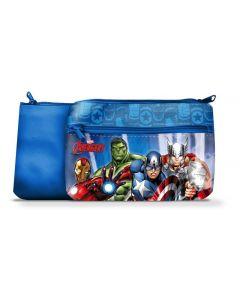 Avengers toalettmappe 24x15 cm - blå