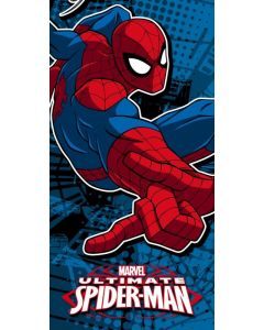 Spider-Man håndkle - 70 x 140 cm