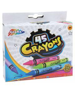 Fettstifter - 45 farger