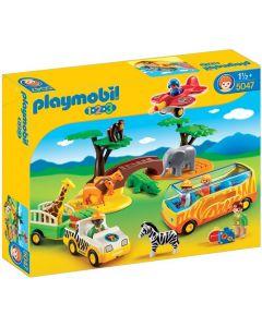 Playmobil 1.2.3 Large African Safari 5047