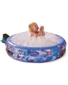Disney Frozen basseng med bobler og pumpe