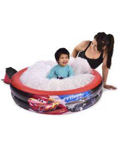 Disney Cars 3 basseng med bobler og pumpe