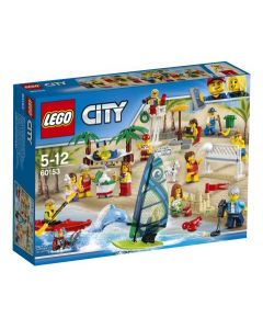 LEGO City Town Figursamling – moro på stranden 60153