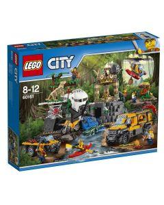 LEGO City Jungle Explorers Jungelsett – utgravningssted 60161