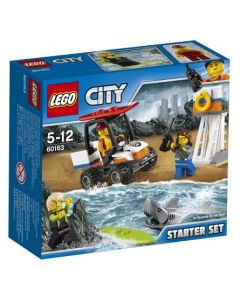 LEGO City Coast Guard Kystvakt-startsett 60163