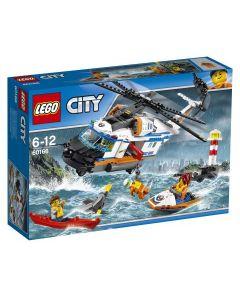 LEGO City Coast Guard Stort redningshelikopter 60166