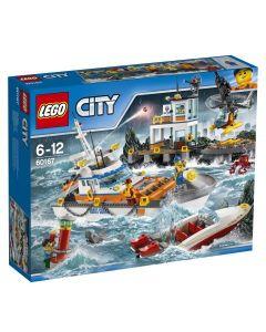 LEGO City Coast Guard Kystvaktens hovedkvarter 60167