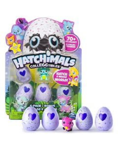 Hatchimals colleggtibles 4 pack med bonusfigur