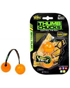 Thumb Chucks - den nye, kule ferdighetsleken! - Oransje