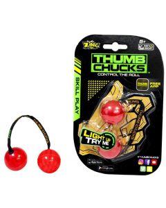 Thumb Chucks - den nye, kule ferdighetsleken! - Rød