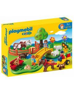 Playmobil 1.2.3 Countryside 6770