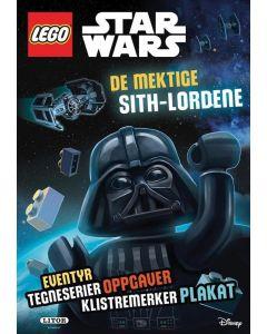 LEGO Star Wars aktivitetsbok med klistremerker og plakat