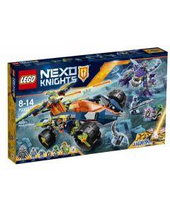 LEGO Nexo Knights Aarons steinklatrer 70355
