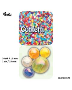 Klinkekule - Confetti