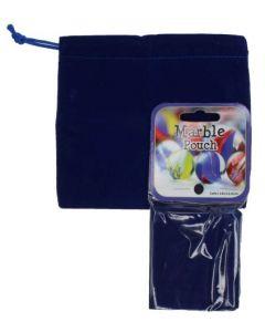 Samlepose til klinkekuler 14x12,5 cm - blå