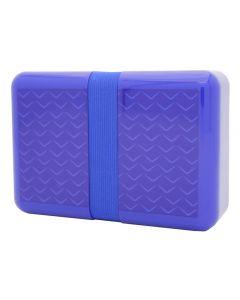 Free Pure Norway Wave matboks med strikk - blå