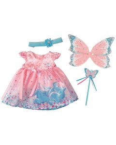 BABY Born Wonderland Sparkle Wing Dress