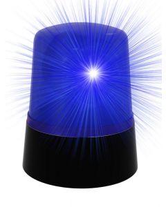 Politilampe med blålys - 11cm