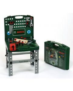 Bosch verktøybenk med verktøy