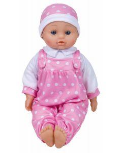 Baby Stella dukke med 6 lyder - 40cm