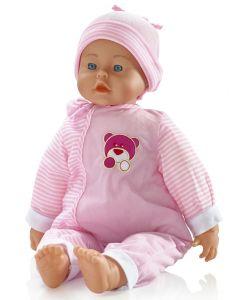 Lissi 56 cm myk dukke - rosa