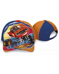 Disney Blaze caps - orange 52 cm