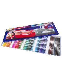 Disney Cars 3 fargeblyanter - 50 farger