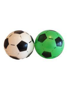 Plastball med fotballmønster - assortert