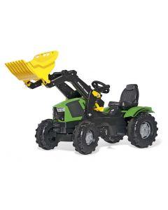 RollyToys Farmtrac Deutz-Fahr 5120 - plasthjul
