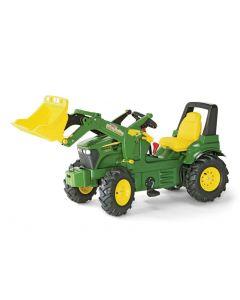 RollyToys Farmtrac John Deere 7930 - oppblåsbare gummihjul