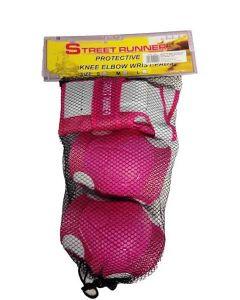 Beskyttelses-sett rosa S