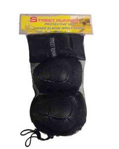 Beskyttelses-sett svart S