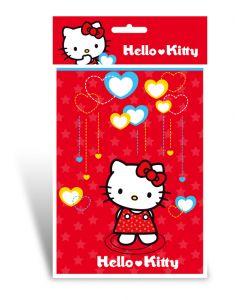 Hello Kitty aktivitetssett: tegneblokk A5 med klistremerker
