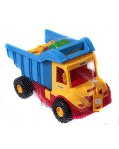 Wader lastebil i sterke farger inkludert liten graver 38 cm - selges assortert